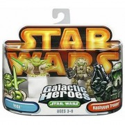 Star Wars Galactic Hero Yoda & Kashyyyk Trooper