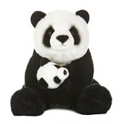 "Aurora World Miyoni Panda Bear with Cub Plush, 15"" by Aurora"