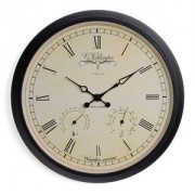 Zegar ścienny Nextime Aaltje Weather Station 2969