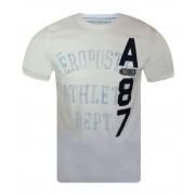 Camiseta - Aeropostale Masculina - Branca N 19