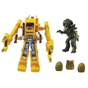 Aliens Power Loader Minimates 2 Pack Set Featuring Ripley & Battle Damaged Alien