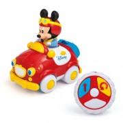 Masinuta Mickey cu telecomanda, CLEMENTONI Disney Baby