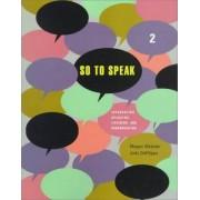 So to Speak 2 by Megan Webster
