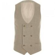 River Island Stone suit waistcoat