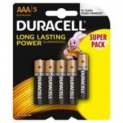 Baterie Duracell Basic AAA LR03 4+1 gratis