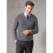 Walbusch Sakko Pullover Grau 54