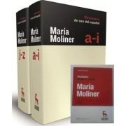 Diccionario uso del español y DVD by Maria Moliner