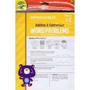 Addition and Subtraction Word Problems Reproducible Educational Workbook - Grades 1-2