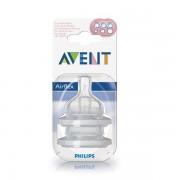 Tetina Airflex orificiu variabil x 2 - Philips Avent