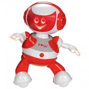 Tosy DiscoRobo Dancing Robot without Speaker (Red)