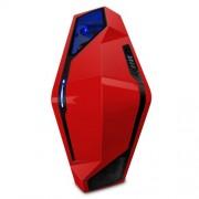 NZXT Phantom 410 CA-PH410-R1 Case per PC da Gaming, Rosso
