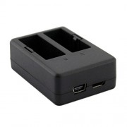 5V 2A USB Dual Slot Action Camera Battery Charger for SJCAM SJ4000 SJ5000 Camera