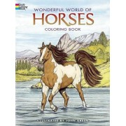 Wonderful World of Horses Coloring Book by John Green