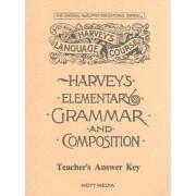 Harveys Elementary Grammar Key by Eric E Wiggin
