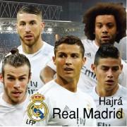 Real Madrid mintájú párna