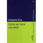 Como Se Hace Una Tesis by Umberto Eco