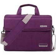 Brinch 15-15.6 Inch Laptop Messenger Bag for Apple Acer Asus Dell Fujitsu Lenovo HP Samsung Sony Toshiba (Purple)