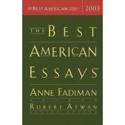 The Best American Essays 2003 by Anne Fadiman