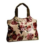 Lulu Australia Womens Roses Typical French Top-Handle Bag