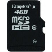 Card Kingston microSDHC 4GB (Class 10)