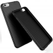 Husa de protectie FLOVEME Carbon pentru iPhone 6 / iPhone 6S, Black