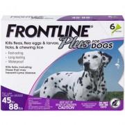 Frontline Plus 6pk Dogs 45-88 lbs by MERIAL
