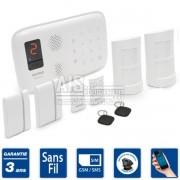 Alarme maison sans fil GSM - ELEGANTE 50 - Kit E2