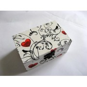 cutie lemn decorata 21064