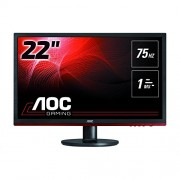 AOC G2260VWQ6 Gaming 21.5'' LCD Monitor, Black