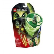 Build Morros own personal Airjitzu Flyer and place the minifigure inside-Pull the rip cord to send the Ghost Ninja into