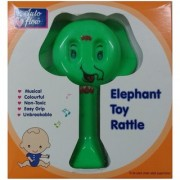 Auto Flow Rattle Toy- Elephant Toy - BT25 Red