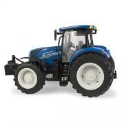 Tomy Farm - Tractor de juguete New Holland T7.270 New, escala 1:16, color azul (30693156)