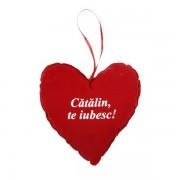 """INIMA CU NUME """"CATALIN, TE IUBESC!"""""""