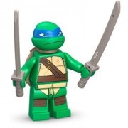 LEGO TMNT - LEONARDO V1 Minifigure - Teenage Mutant Ninja Turtles