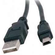 Kabel USB A - Mini-B 1m