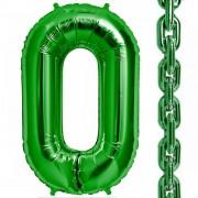 Balon folie verde in forma de za - 86cm, Northstar Balloons 00464