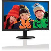 Monitor Philips LED 203V5LSB26/10 19.5 inch Negru