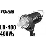 Lampa błyskowa o mocy 400Ws, model LD-400 (Bowens)