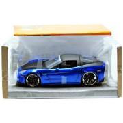 Jada Toys - 96804bl - Pronti veicolo - modello per la scala - Chevrolet Corvette Z06 - Scala 1/24