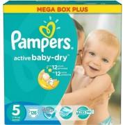 Scutece Pampers Active Baby 5 Junior Mega Box Pack 11-18Kg (126)
