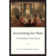 Accounting for Taste by Priscilla Parkhurst Ferguson