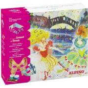 Cutie cu articole creative pentru copii, ALPINO ArtKid Carnaval de Valencia