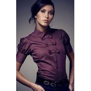 Vernissa koszula 8 (bakłażan)