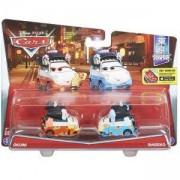Дисни Карс - Комплект колички - Окуни и Шигеко - Disney Cars, 1718571