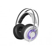 SteelSeries Siberia 650, Gaming Headset, Dolby 7.1 Surround Sound, RGB Illumination, Software Management, (PC / Mac) - White
