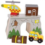 Bigjigs Rail Mountain Rescue for Train Set