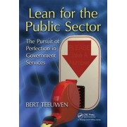 Lean for the Public Sector by Bert Teeuwen