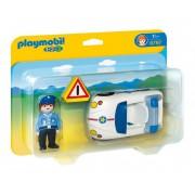 Полицай с полицейска кола Playmobil 6797