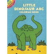 Little Dinosaur ABC Coloring Book by Winky Adam
