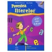 Povestea literelor nivel 2 5-6 ani - Stefania Antonovici Anca Vodita